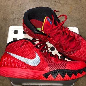 Nike Air Kyrie 1 Deceptive Red Black 705277- 606